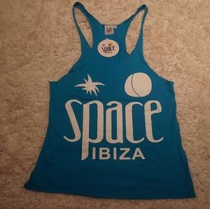 Tops - Tank Top muscle cut from Space in Ibiza